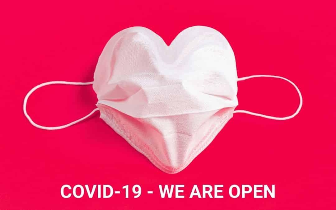 COVID-19 WE ARE OPEN