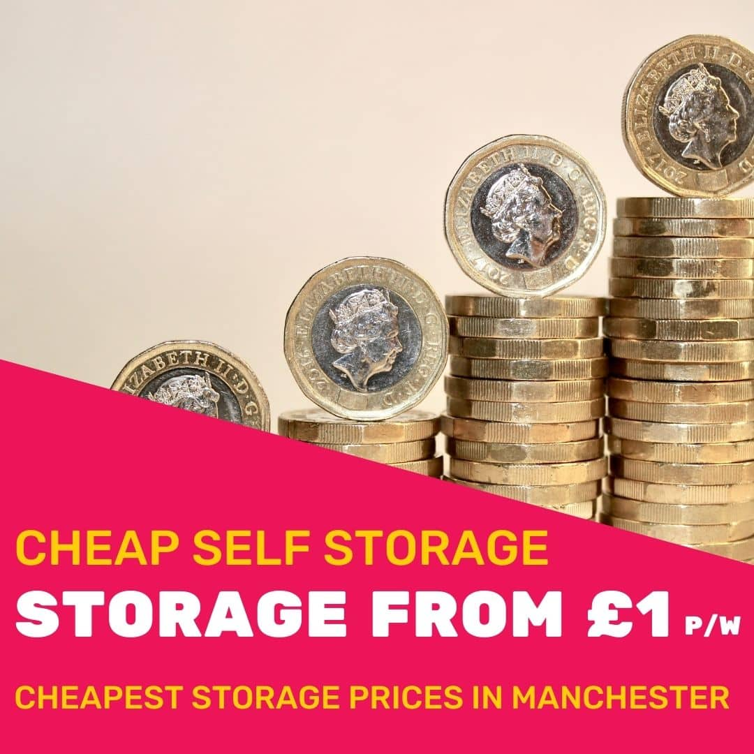 Self Storage From £1 Per Week Image