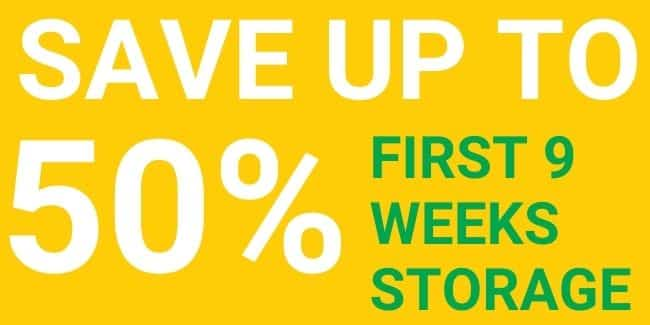 Save up to 50% on first 9 weeks