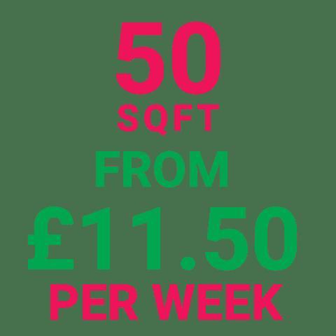 Storage Manchester 50SqFt Prices