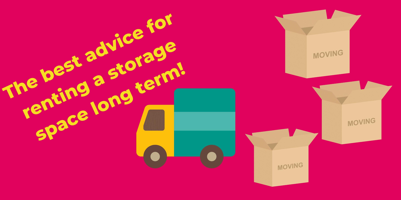 Renting a storage unit long term